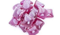 Voorzichtig met capsules vloeibaar wasmiddel