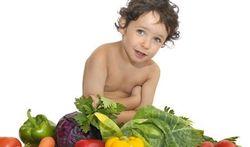 Vegetarische kinderen