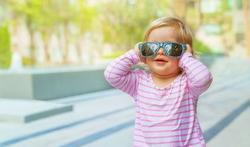 Kinderogen beschermen tegen Uv-straling