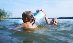 Oppassen met zwemmen in open water