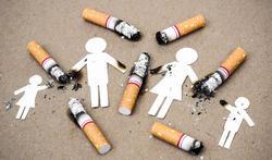 Tabaksrook blijft achter op kinderhanden