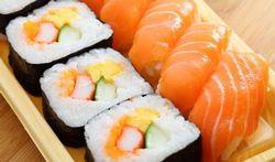 Beter geen (tonijn)sushi op het menu
