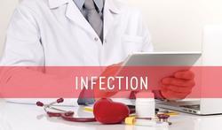 Wat is het verschil tussen een ontsteking en een infectie ?