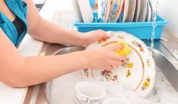 Minder allergieën bij afwassen met de hand