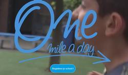 One Mile a Day zet uw school in beweging