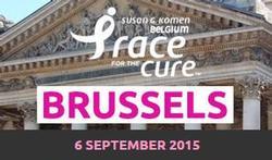 Race for The Cure Brussels: samen wandelen en lopen tegen borstkanker