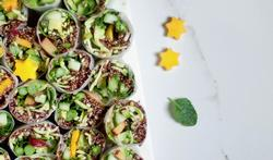 Quinoa springrolls