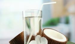Les vertus de l'eau de coco