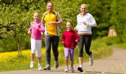Activité physique : parents, il faut montrer l'exemple !