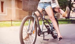 Tandem : les bienfaits du vélo à deux
