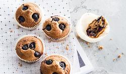 Muffins aux myrtilles (bleuets)