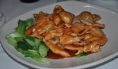 Les émincés de poulet à la chinoise