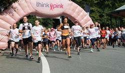 Ensemble à la Race for The Cure contre le cancer du sein