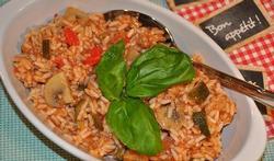 Le riz à la provençale