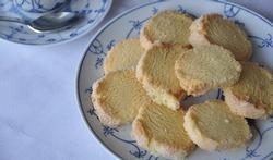 Sablés aux agrumes et à la vanille