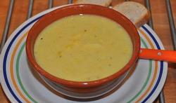 La soupe  au maïs doux