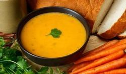 Velouté de carottes aux agrumes et  au curcuma