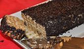 Gâteau de biscuits au café et aux granulés de chocolat