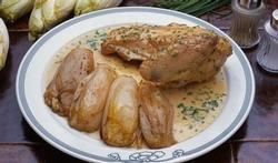 Le poulet aux chicons