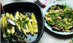 Geplette courgettes