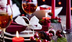 Dik word je tussen 'oud en nieuw' en kerstmis, en niet omgekeerd