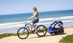 Fietsen met kinderen: Veiliger met een fietskar