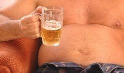 Kunt u ook van wijn een 'bierbuik' krijgen?