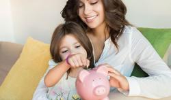 Hoe leer je een kind sparen?