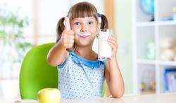 Slanker door volle melk op jonge leeftijd?