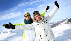 Ski-stretching oefeningen - Tijd nemen voor opwarming