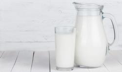 Drie glazen calcium per dag!