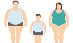 Obesitas zit soms in de familie