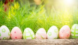 Mag je geschilderde eieren opeten ?
