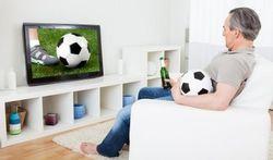 Voetbal kijken is belastend voor het hart