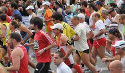 Pijnstillers voor marathon zijn gevaarlijk