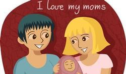 Kinderen met homo of lesbische ouders gezonder?
