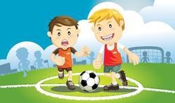 Een correcte warm-up vermindert letsels bij jonge voetballertjes