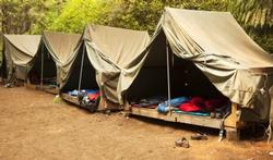 Kinderen op kamp