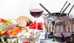Voorzichtig met fondue en gourmet