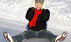 Bescherm uw handen bij het schaatsen