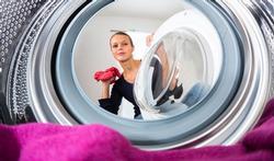Wasmachine kan resistente bacteriën verspreiden