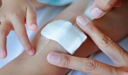 Welk ontsmettingsmiddel gebruik je om een wond te verzorgen?