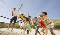 Beachvolleybal is ideaal om je lichaam te tonifiëren