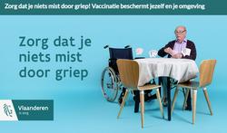 Griepvaccinatiecampagne focust op 65-plusser en zorgverstrekkers