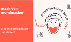 Help mee de broodnodige mondmaskers voor zorgverleners maken via maakjemondmasker.be