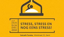 Stress, stress en nog een stress!