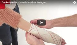 Video: Kruisverband hand