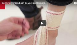 Video: Kruisverband voet