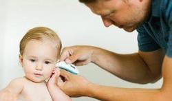 Hét stappenplan voor koorts bij je baby