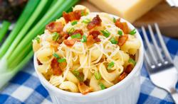 Mac, jambon, fromage avec du fenouil